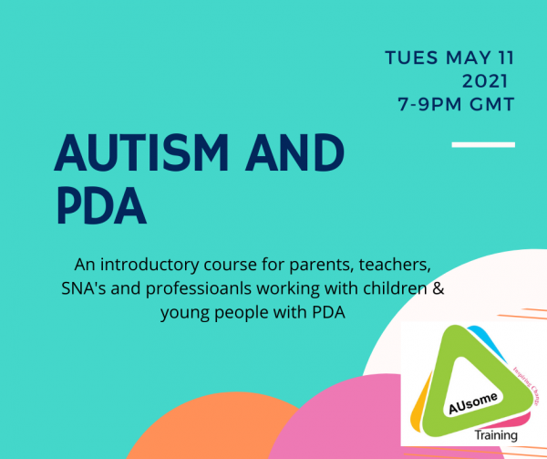 PDA and autism course