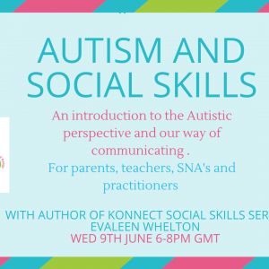 autism and social skills webinar