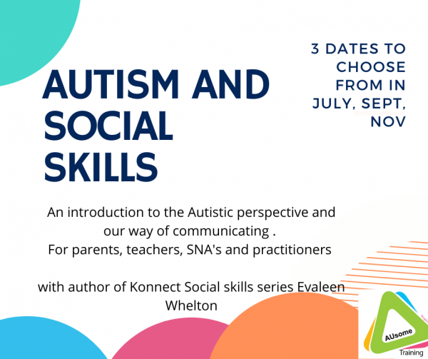 autism and social skills course