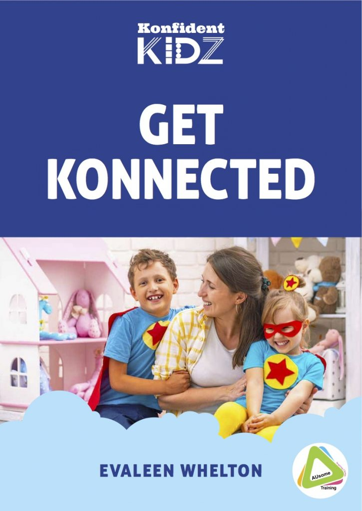 Get konnected autism and social skills book as part of Get Konnected Course