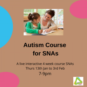 autism course for SNAs