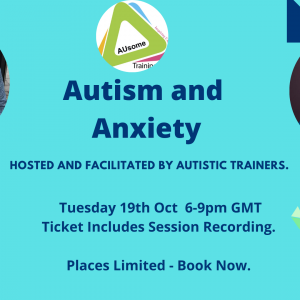 autism and anxiety webinar