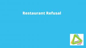 restaurant refusal